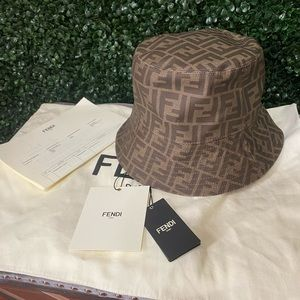 Fendi fabric bucket hat
